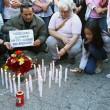 Roma, primi soccorsi vittime auto killer. Corazon Perez Abordo la vittima03