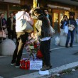 Roma, primi soccorsi vittime auto killer. Corazon Perez Abordo la vittima04