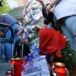 Roma, primi soccorsi vittime auto killer. Corazon Perez Abordo la vittima06