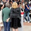 Kate Fonda e Harvey Keitel. Cate Blanchett, Rooney Mara e Todd Haynes: donna palpa uomo a Cannes