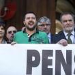 """Matteo Salvini occupa ministero Economia: """"Ladri di pensioni08"""