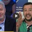 """Luca Sofri gaffe in diretta: """"Qui a Ballarò..."""" Floris e Salvini lo sfottono"""