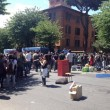 Scup, centro sociale sgomberato a Roma. Anche con le ruspe FOTO-VIDEO3