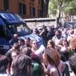 Scup, centro sociale sgomberato a Roma. Anche con le ruspe FOTO-VIDEO