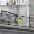 Spider man, Bruce Lee e il marziano spazzino: il degrado trasformato dalla street art02