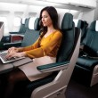 Qatar Airwais migliore compagnia al mondo. Alitalia solo 74esima03