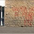 Scritte contro Paulo Sousa a Firenze