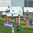 VIDEO YouTube - Il cross finisce nel finestrino dell'ambulanza 012