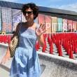 Agnese Renzi madrina a Pitti Bimbo: abito azzurro e linguaccia FOTO 4