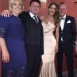 Anna Tantagelo alle nozze della sorella Silvia con Gigi D'Alessio05