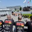 Juventus-Barcellona: tifosi bianconeri affittano bus e girano per Berlino03