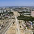 Cina, treno ad alta velocità attraversa il deserto di Gobi FOTO 2