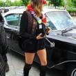 """Cara Delevigne a Berlino per presentare il film """"Paper Towns"""" FOTO 6"""