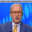 """VIDEO YouTube - Vittorio Feltri a Francesca Barra: """"Se fai domande, fammi parlare"""""""
