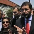 """Roma: funerali Corazon Abordo FOTO Marino contestato: """"Vergogna, vattene""""11"""
