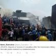 Indonesia, aereo militare si schianta su centro abitato: vittime FOTO