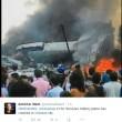 Indonesia, aereo militare si schianta su centro abitato: vittime FOTO 3