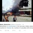 Indonesia, aereo militare si schianta su centro abitato: vittime FOTO 5