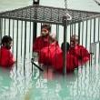 VIDEO YouTube. Isis uccide 5 spie: chiusi in gabbia e annegati in una piscina 2