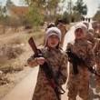 Bambini armati dell'Isis