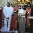 Kim Kardashian e Kanye West battezzano North in chiesa armena a Gerusalemme FOTO 2