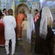 Kim Kardashian e Kanye West battezzano North in chiesa armena a Gerusalemme FOTO 4