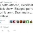 """Maurizio Gasparri: """"Isis attacca, Occidente risponde con più talk show"""""""