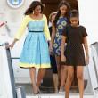Michelle Obama a Londra con le figlie Sasha e Malia FOTO 5