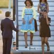 Michelle Obama a Londra con le figlie Sasha e Malia FOTO 2