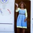 Michelle Obama a Londra con le figlie Sasha e Malia FOTO 3