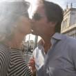 Monica Leofreddi sposa Gianluca Delli Ficorelli il 13 giugno a Roma FOTO 3