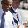 G7: Merkel fa gli onori di casa, Obama beve birra123