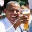 G7: Merkel fa gli onori di casa, Obama beve birra06