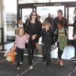 Brad Pitt, Angelina Jolie e famiglia vacanze in Francia