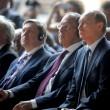 """Putin a Expo scherza con Renzi: """"Italia grande partner della Russia08"""