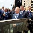 """Putin a Expo scherza con Renzi: """"Italia grande partner della Russia03"""