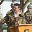 Matteo Renzi, mimetica e jeans durante visita a Herat in Afghanistan5