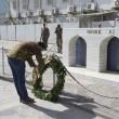 Matteo Renzi, mimetica e jeans durante visita a Herat in Afghanistan6
