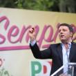 """Renzi: """"Pd si dia una smossa, fuori c'è Salvini"""""""