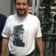 """Matteo Salvini al Parlamento Ue con la maglietta di Putin: """"Contro Eurocretini"""""""