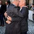 Londra, il bacio sul red carpet tra Patrick Stewart e Ian McKellen02