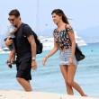 Belen Rodriguez e Stefano De Martino, vacanza a Formentera VIDEO