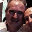 Lamberto Sposini, foto con Giulio Maira, il medico che gli ha salvato la vita 2