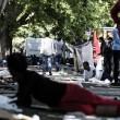 Tiburtina Roma, centinaia di profughi accampati 0106