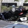 Parigi, tassisti in rivolta contro Uber, uova anche sull'auto di Courtney Love 5