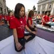 VIDEO YouTube. Yoga Day in India: in 35mila da 84 Paesi, 2 Guinness Record vinti7