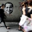 """Berlusconi come Mr Grey di """"50 sfumature di grigio"""": i graffiti a Bangkok"""