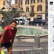 Gianni Morandi sfida caldo e corre a Roma: la FOTO su Facebook diverte i fan