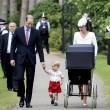 Charlotte, battesimo royal baby in carrozzina d'epoca15