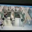 VIDEO YouTube - Stritolata da scala mobile: prima di morire mette in salvo il figlio 03